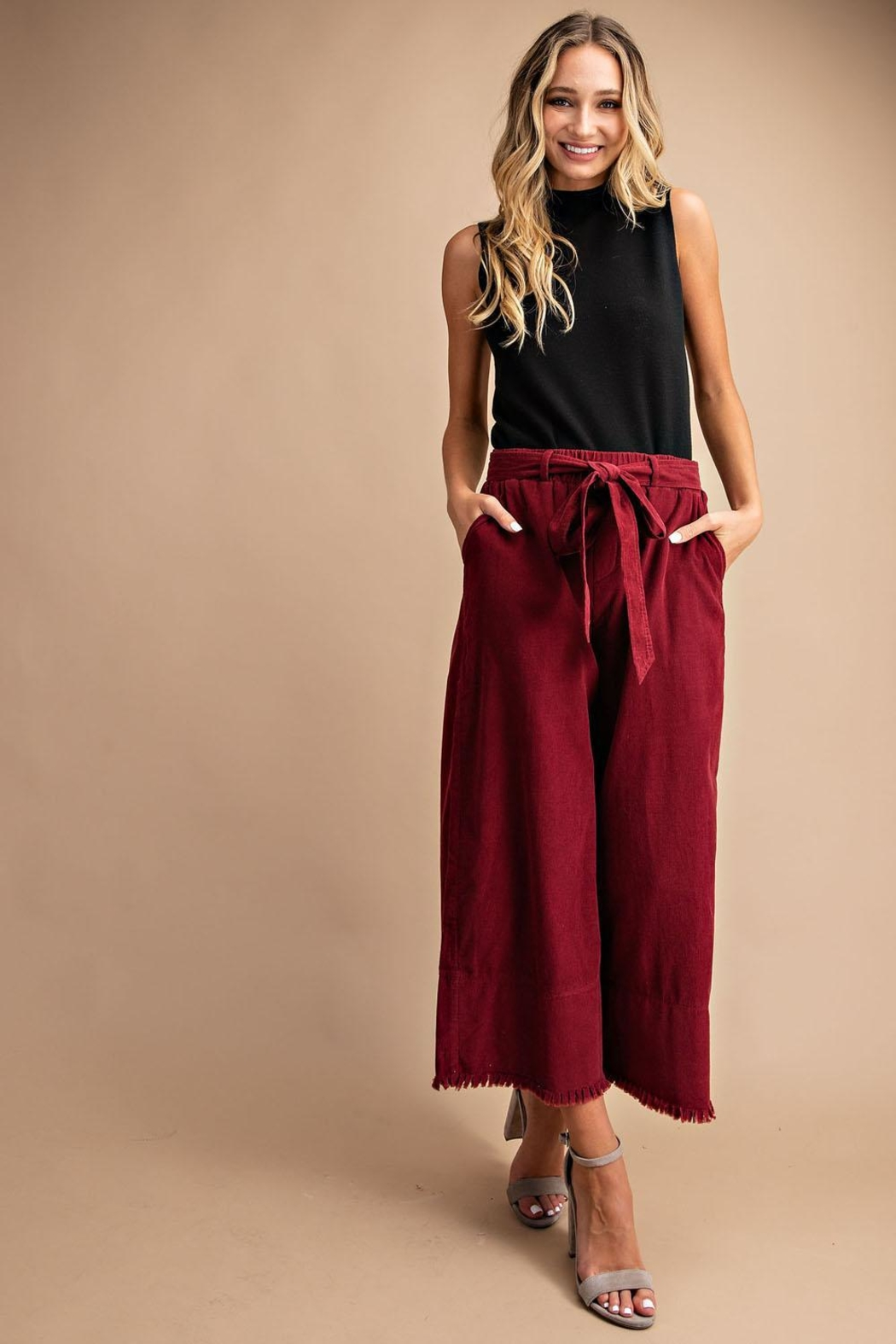 Unknown Factory Wide Leg Pants - Main Image