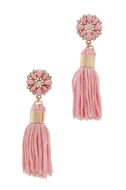 Unlabel Flower Pink Tassels - Product Mini Image