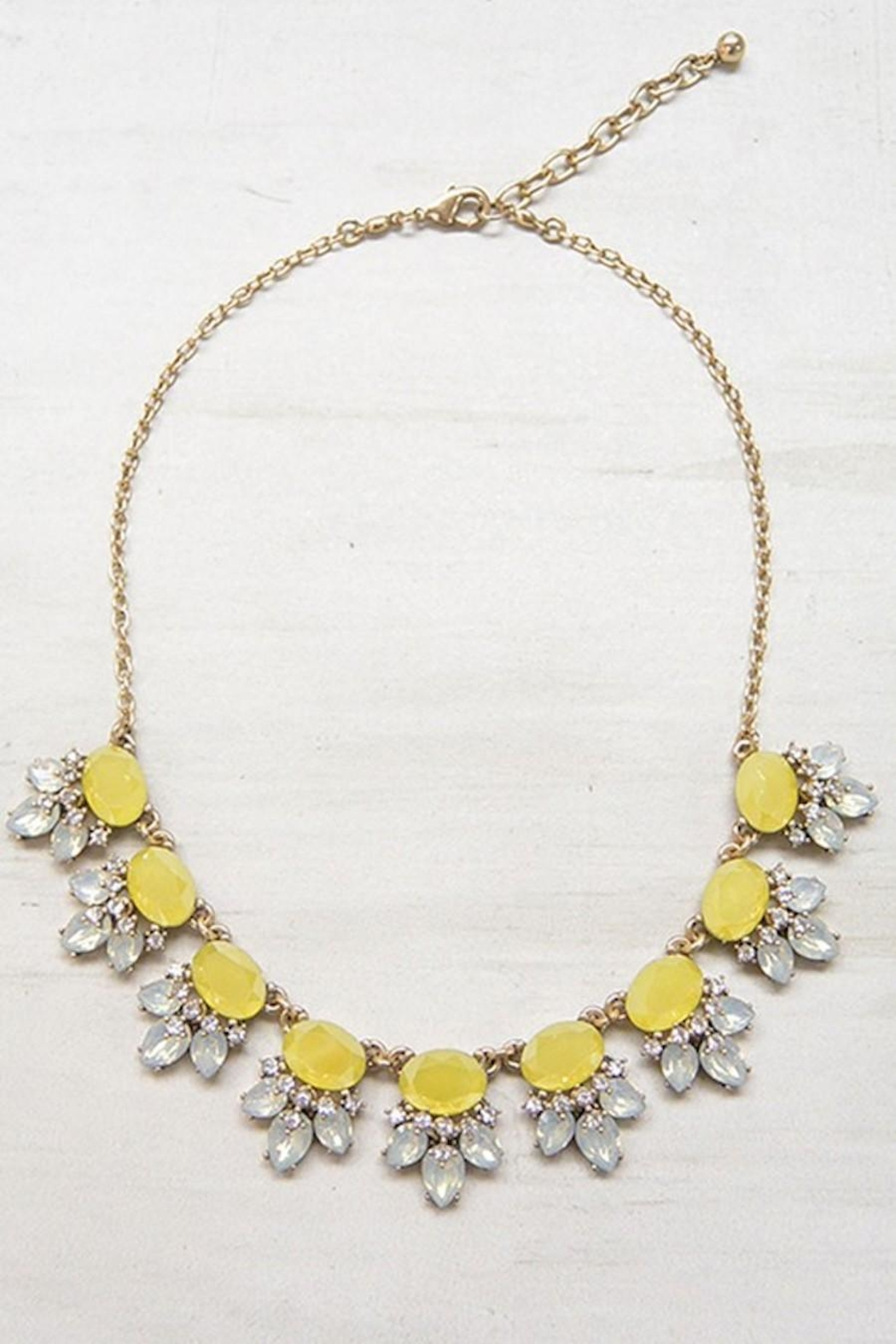 Unlabel Mustard Statement Necklace - Main Image