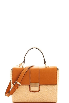 Shoptiques Product: Straw Tan Bag