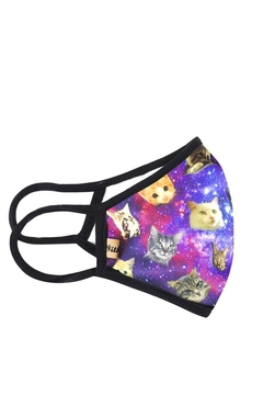 Unlisted Galaxy-Cats Face Mask - Alternate List Image