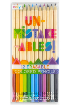 Ooly Unmistakeables Erasable Colored Pencils - Product List Image