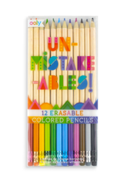Ooly Unmistakeables Eraseable Colored Pencils - Front cropped