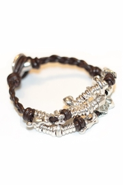 Uno de 50 Akeela Leather Bracelet - Product Mini Image