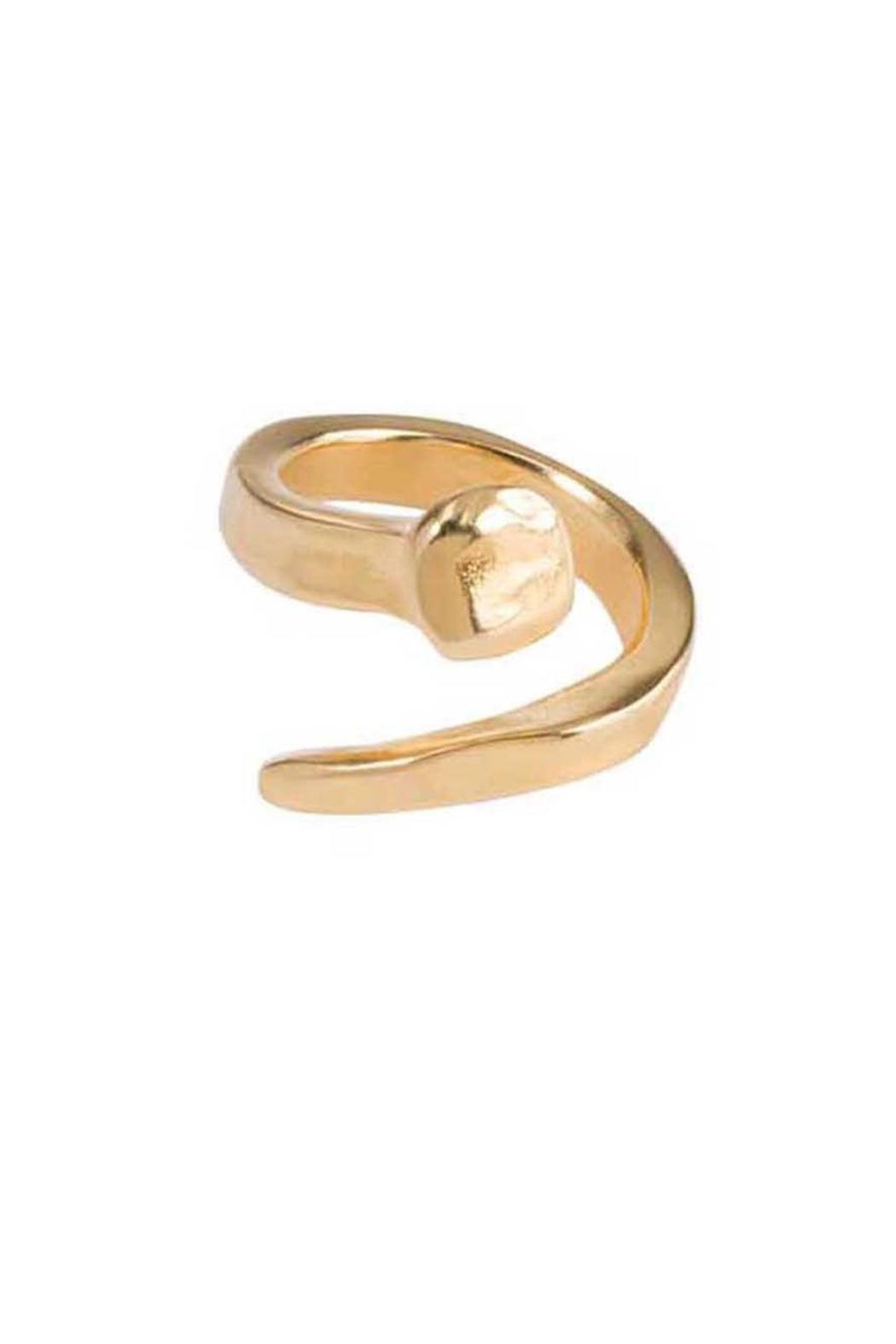 Uno de 50 B12 Ring Gold - Front Full Image