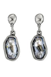 Uno de 50 Blue Crystal Earrings - Product Mini Image
