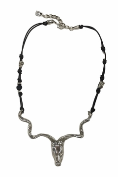 Shoptiques Product: Bull Leather Necklace