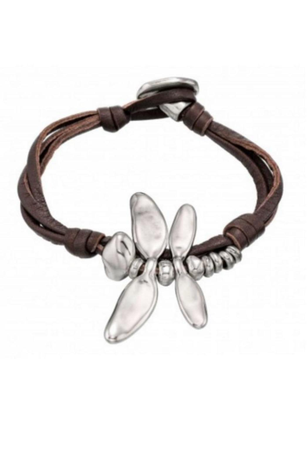 Uno de 50 Dragonfly Leather Bracelet from Maryland by My ...