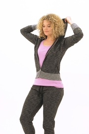 UNOA Genesis Hoodie Charcoal - Front cropped
