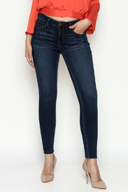 Unpublished Dark wash denim - Front cropped