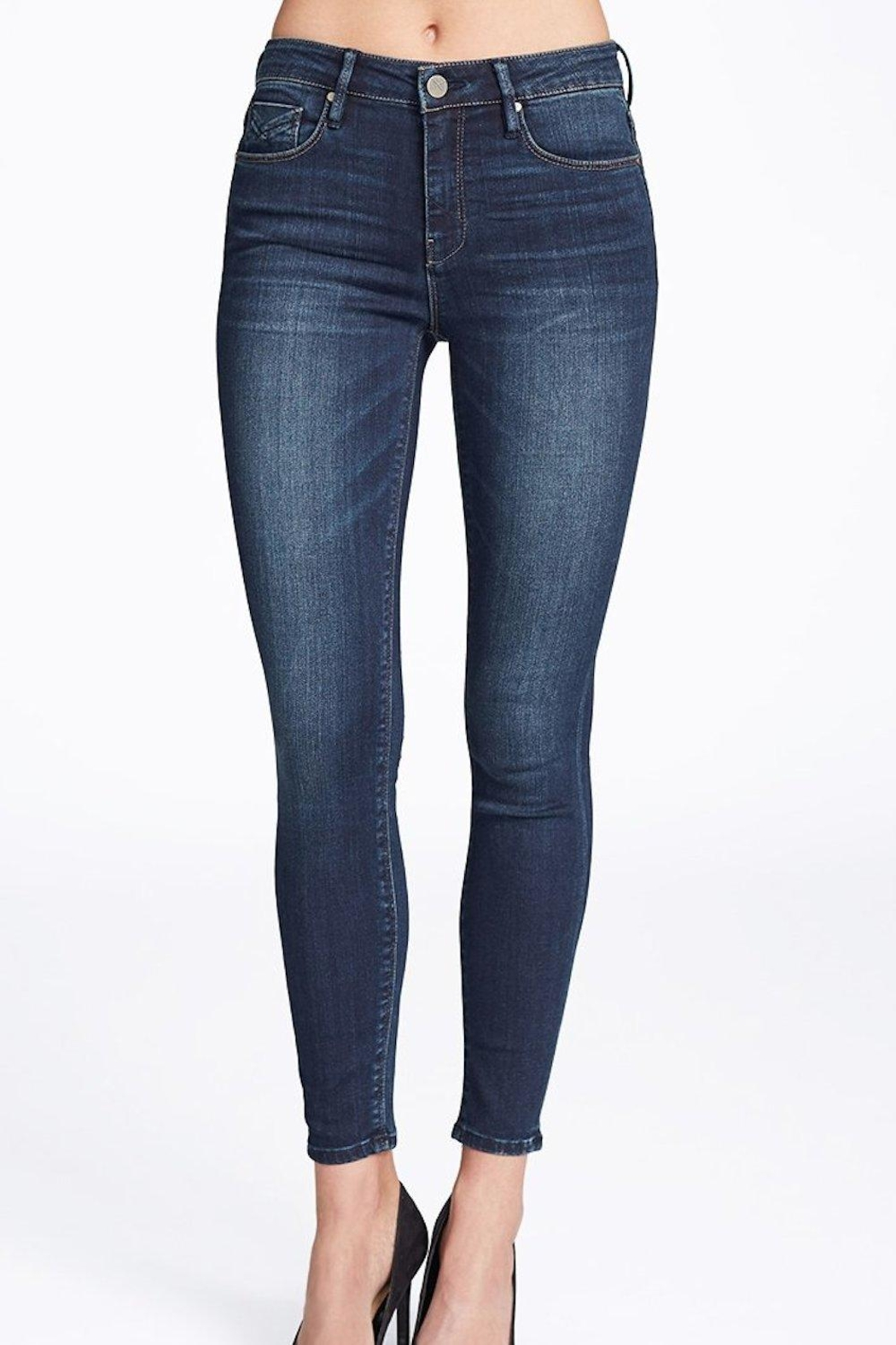 Unpublished Kora Mid-Rise Jeans - Front Cropped Image