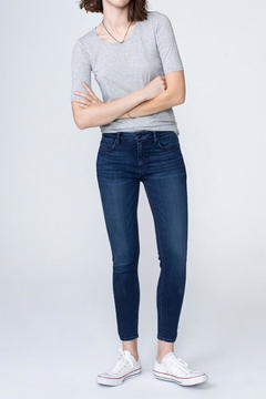 Shoptiques Product: Kora Mid Rise Skinny In Blue Star
