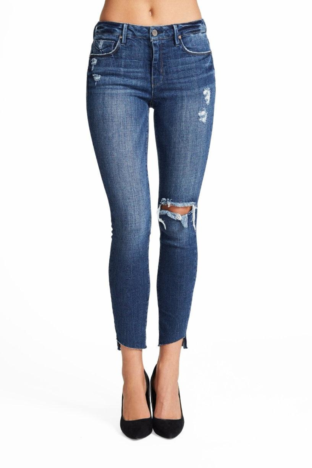 Unpublished Mid Rise Skinny - Front Cropped Image