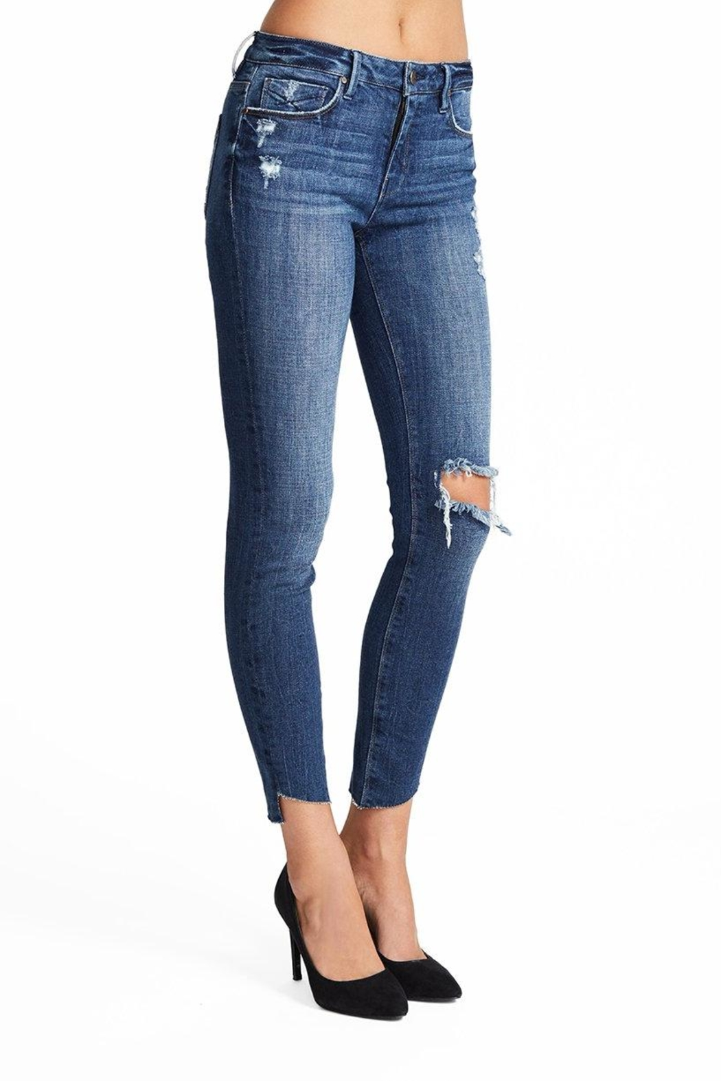 Unpublished Mid Rise Skinny - Front Full Image