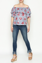 Unpublished Mid Rise Skinny Jeans - Side cropped