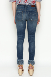 Unpublished Mid Rise Skinny Jeans - Back cropped