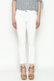 Unpublished White Crop Pants - Front full body