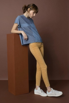 Unpublished Ochre Skinny Jean - Product List Image