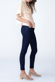 Unpublished Olivia High Rise Skinny In Marine - Front full body