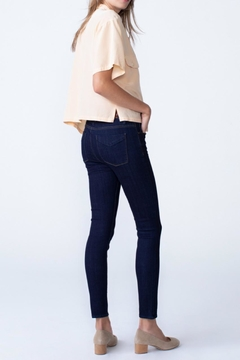 Unpublished Olivia High Rise Skinny In Marine - Alternate List Image
