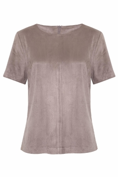 Shoptiques Product: Bewitched Suede Tee