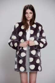 UNREAL FUR Bubbles Coat - Product Mini Image