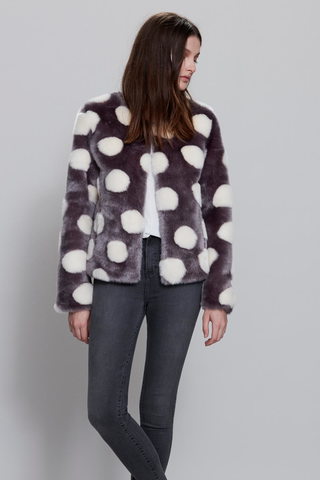 UNREAL FUR Bubbles Jacket - Front Cropped Image
