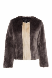 UNREAL FUR Classic Stripe Jacket - Front cropped