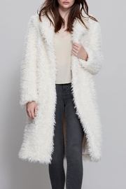 UNREAL FUR Dela Cream Coat - Product Mini Image