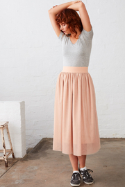 UNREAL FUR Diamond Rust Skirt - Back cropped
