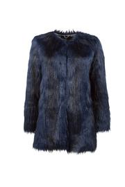 UNREAL FUR Faux Fur Coat - Front cropped