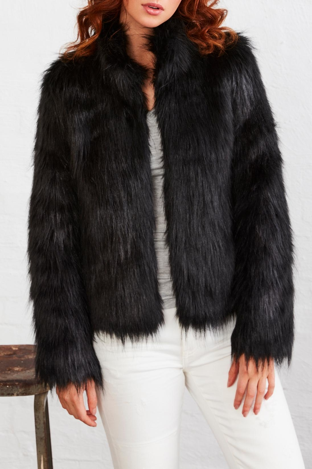 UNREAL FUR Fur Delicious Jacket - Front Cropped Image