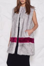 UNREAL FUR Hint Of Orchid Vest - Product Mini Image