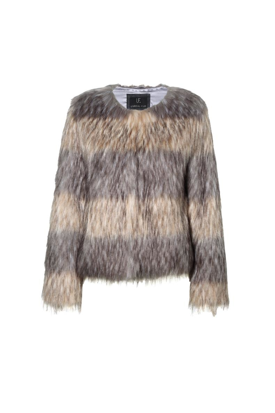 UNREAL FUR Landscape Jacket - Front Full Image