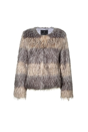 UNREAL FUR Landscape Jacket - Front full body