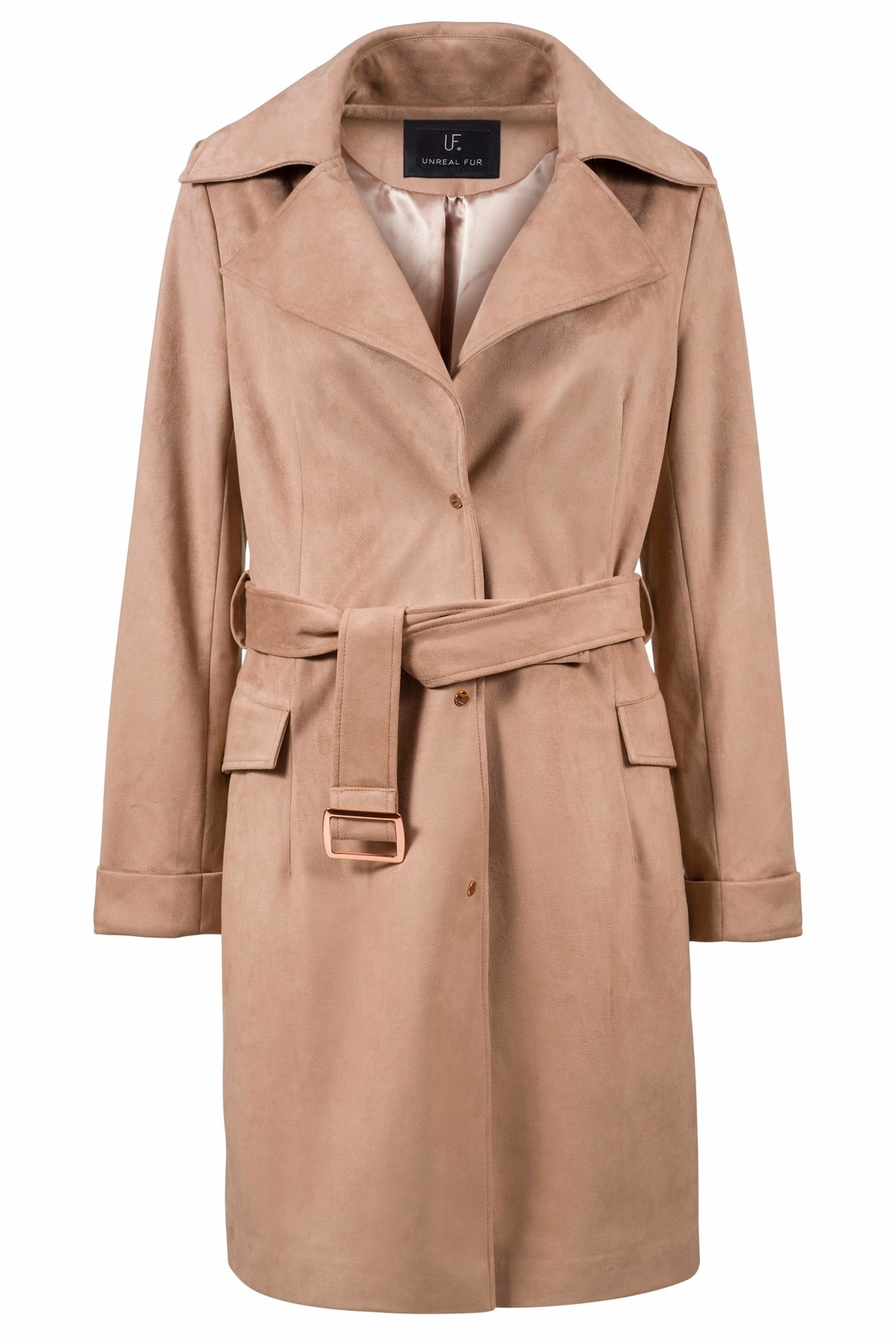 UNREAL FUR Magic Trench Coat - Front Cropped Image
