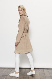 UNREAL FUR Magic Trench Coat - Side cropped