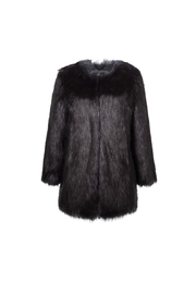 UNREAL FUR Midnight Coat - Front full body