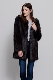 UNREAL FUR Midnight Coat - Front cropped