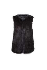 UNREAL FUR Midnight Vest - Front full body