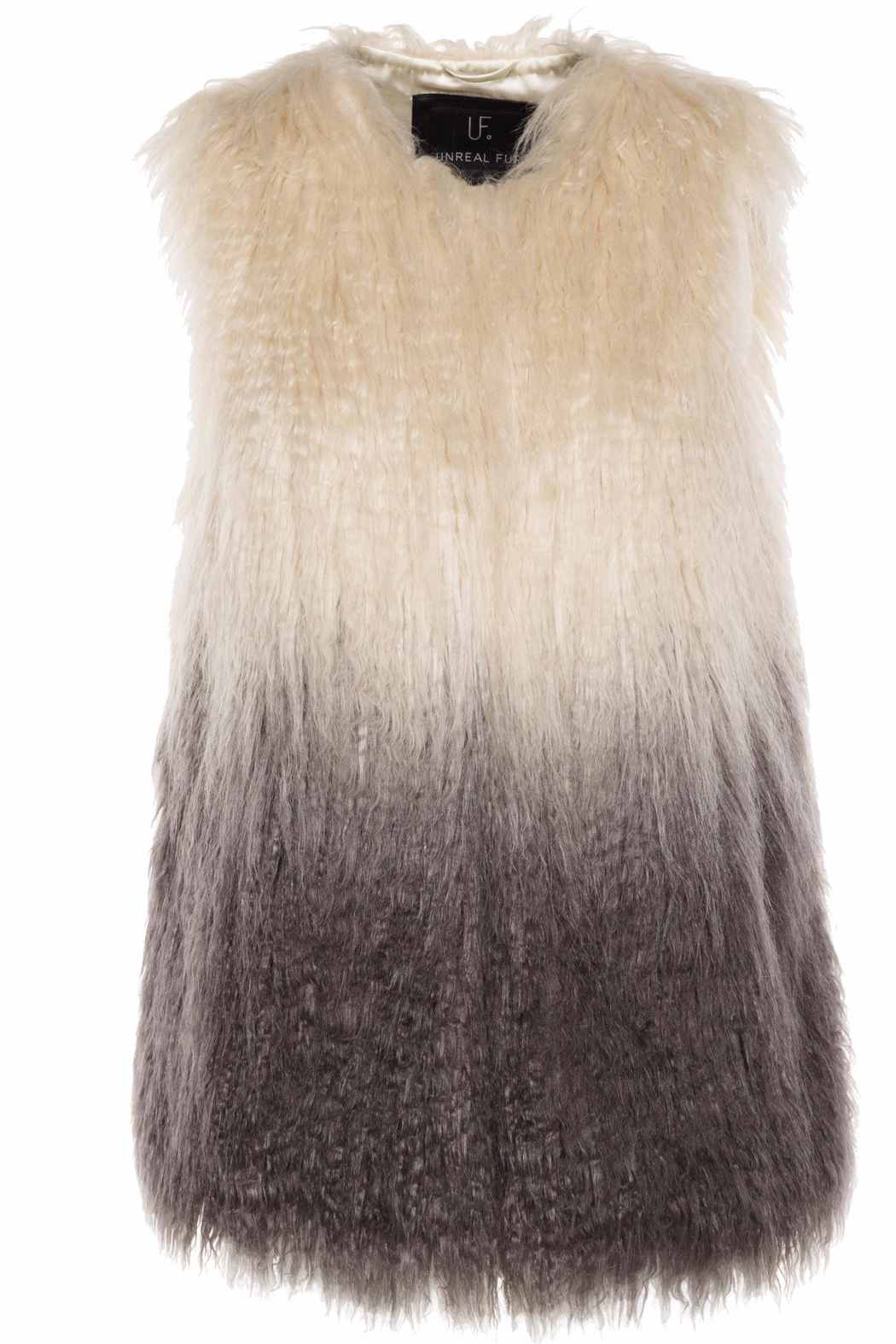 UNREAL FUR Pastorale Ombre Jacket - Front Cropped Image