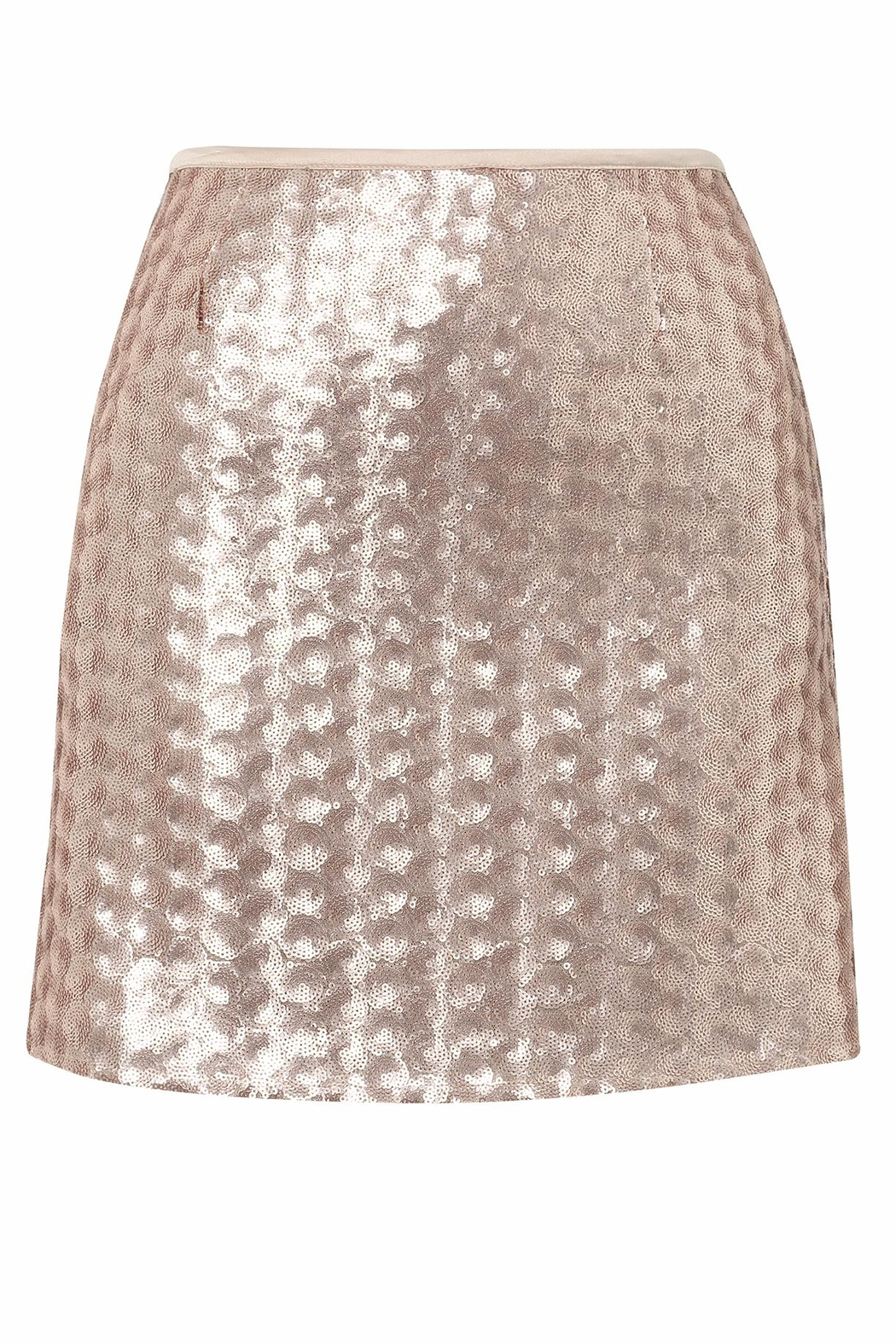 UNREAL FUR Sequin Mini Skirt - Front Cropped Image