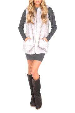 UNREAL FUR Silver Lining Vest - Product List Image