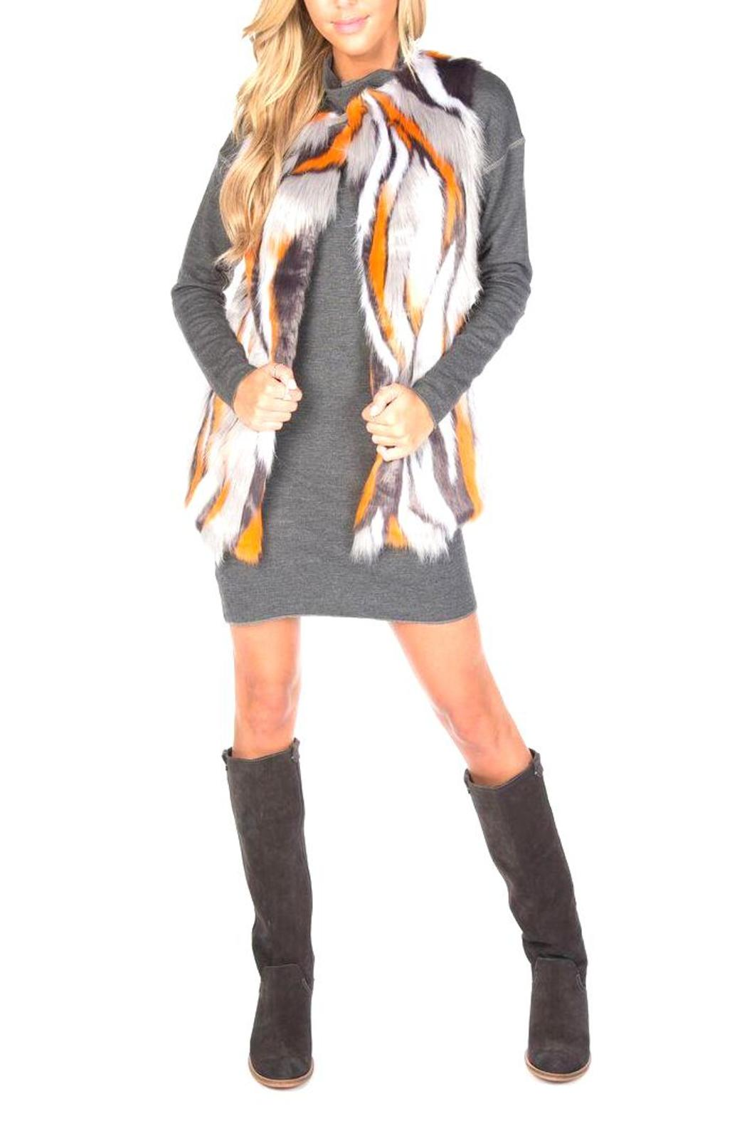 UNREAL FUR Supernova Vest - Front Full Image