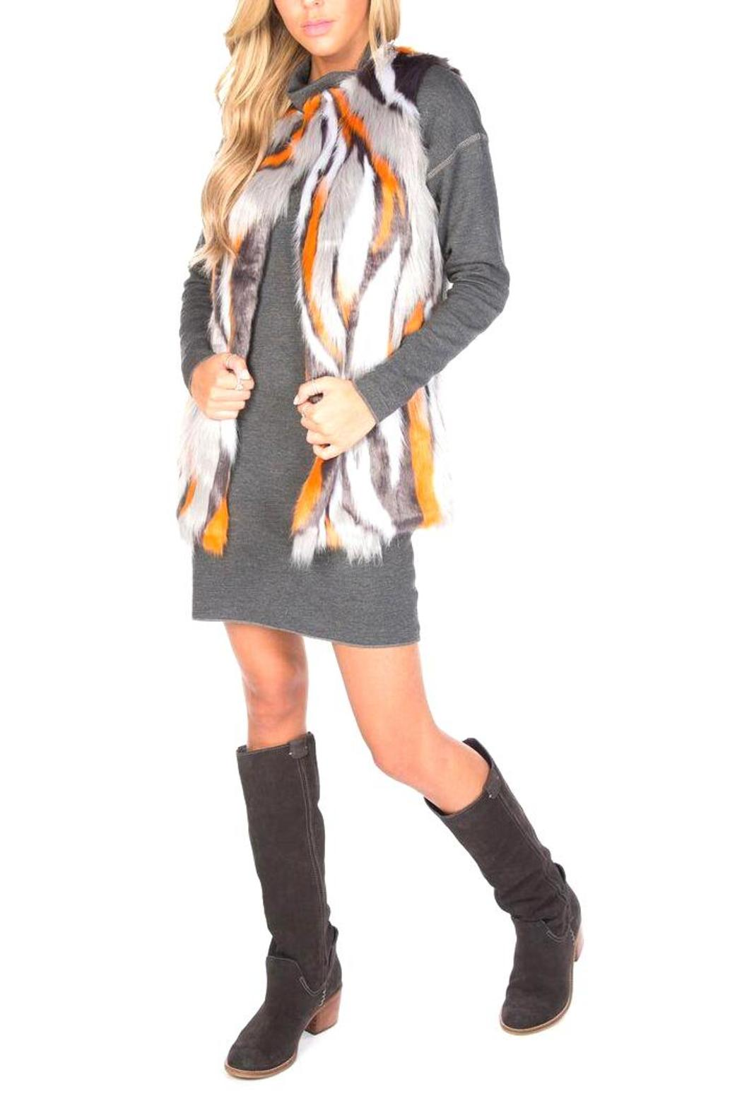 UNREAL FUR Supernova Vest - Side Cropped Image