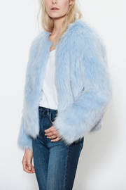 UNREAL FUR Faux Fur Dream Blue Jacket - Product Mini Image