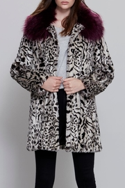 UNREAL FUR Urban Jungle Coat - Front cropped