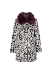 UNREAL FUR Urban Jungle Coat - Front full body