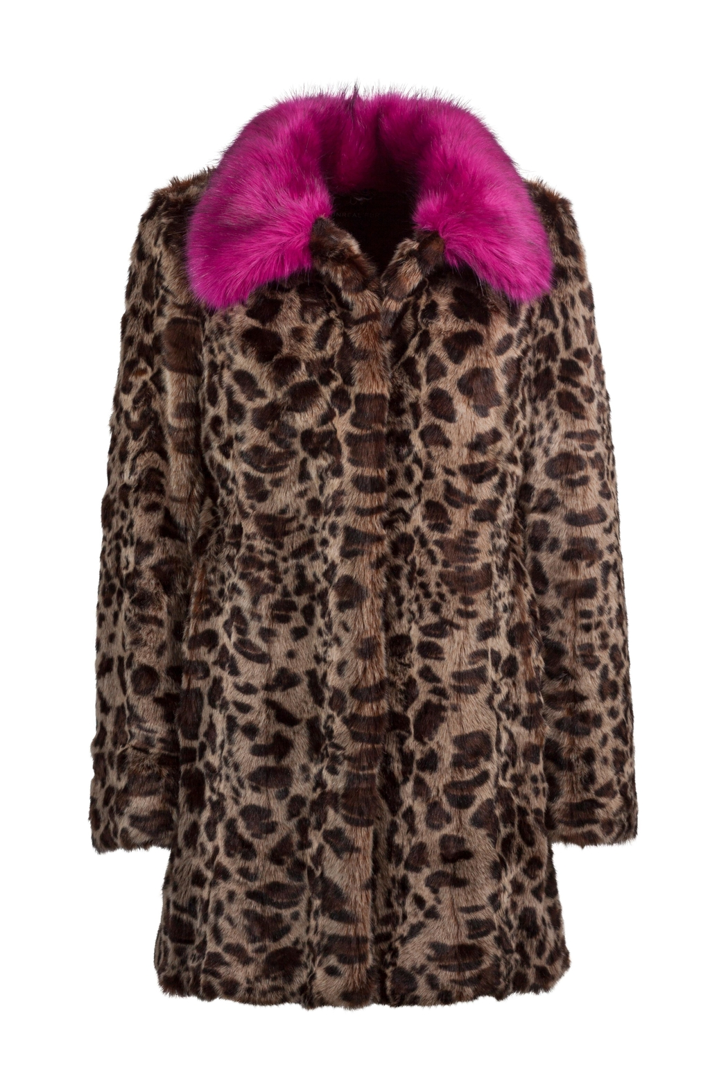 UNREAL FUR Venus Coat - Front Full Image