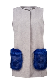 UNREAL FUR Vested Interest Gilet - Product Mini Image